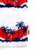 VANS APPAREL WAVE STRIPE TANK TOP WHITE/RED