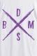 【ゲキクロ限定カラー】BAND-MAID×deathsight コラボデザインTEE WHITE