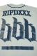 RIP DESIGN WORXX ベースボールシャツ GRY/NVY