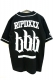 RIP DESIGN WORXX ベースボールシャツ BLK/WHE