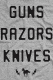 DEFTONES Guns Razors Knives t-shirt