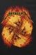 METALLICA Flame Skulls-Black Lightweight T-shirt