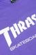 THRASHER TH8301 MAG LOGO LONG TEE PURPLE