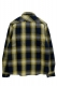 NineMicrophones INDIGO CHECK SHIRT L/S YELLOW