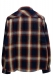 NineMicrophones INDIGO CHECK SHIRT L/S RED