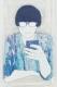フクザワ 【青眼鏡】 iPhoneケース