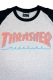 THRASHER TH92206 BAR MAG LOGO 7/S GRY/BLK