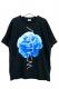 アマツカミ 牡丹 T-Shirt Black