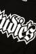 RUDIE'S SPARK 3/4 RAGLAN BLACK/BLACK