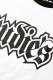 RUDIE'S SPARK 3/4 RAGLAN WHITE/BLACK