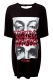MARILYN MANSON×KILL STAR CLOTHING Look Into My Eyes Oversized Tun