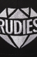 RUDIE'S HEAD GEAR BRILLIANT SNAPBACKCAP BLK/BLK