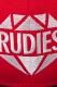 RUDIE'S HEAD GEAR BRILLIANT SNAPBACKCAP RED/BLK