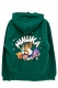 MISHKA (ミシカ) EXWD1003H WITH BEAR PULLOVER IVY GREEN