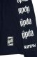 RIP DESIGN WORXX RIPDW LOGO LONG T-SHIRT(ネイビー)