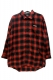 Zephyren (ゼファレン) BIG CHECK SHIRT -Resolve- RED