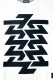 Zephyren (ゼファレン) BIG JAGUARD KNIT -Cut the world- WHITE