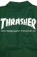THRASHER TH8901C MAG LOGO COACH JKT GRN