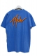 RIP DESIGN WORXX オートグラフロゴガーメントダイTシャツ BLUE/ORANGE