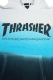 THRASHER TH8501SD2 MAG LOGO HOODIE BLUE