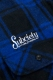 Subciety (サブサエティ) CPO SHIRT-rockabilly- BLUE