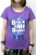 BLACK HOLE BUNNY レディースTシャツ Galaxy Logo PURPLE