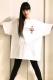 魔法少女になり隊×ハジメ☆ファンタジーコラボTシャツ ホワイト