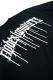 RIP DESIGN WORXX 2TONE ボーダー LONG T-shirt ブラック×白黒ボーダー袖