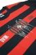 RIP DESIGN WORXX 2TONE ボーダー LONG T-shirt 赤黒ボーダー×ブラック袖