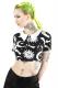KILL STAR CLOTHING (キルスター・クロージング) Cozmic Death Crop Top [B]