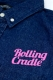 ROLLING CRADLE BIG SHOUT DENIM SHIRT / Indigo