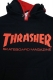 THRASHER HOODIE TH8501H RED