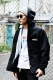 Subciety (サブサエティ) HOOD COACH JACKET-Trust- BLACK