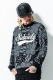 Subciety (サブサエティ) PAISLEY SWEAT-GLORIOUS- BLACK