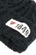 ANIMALIA AN17A-CP02 BEANIE #009 BLK