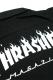 THRASHER TH5093 FRAME-LOGO SHIRT BLK/WHT
