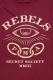 REBEL8 FORETOLD T-Shirt  BURGUNDY