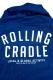 ROLLING CRADLE RC BIG HOODIE JKT / Indigo
