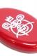 MISHKA (ミシカ) EX17002D COIN CASE BEAR MOP RED