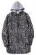 RUDIE'S ANIMAL LONG HOOD SHIRTS GRAY