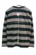 GoneR GR15LS003 Border Long T-Shirts Black