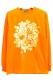GoneR Two Face Long T-Shirts Orange