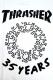 THRASHER THKH-SST08 TEE WHITE