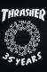 THRASHER THKH-SST08 TEE BLACK