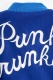 PUNK DRUNKERS ロング丈でかPスタジャン BLUE