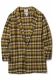 MUSIC SAVED MY LIFE (MSML) FLANNEL GOWN SHIRT YELLOW