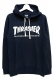 THRASHER TH8501FT MAG FRENCH TERRY HOODIE NAVY