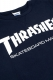 THRASHER TH8401FT MAG FRENCH TERRY CREW SWEAT DEEP NAVY
