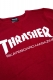 THRASHER TH8401FT MAG FRENCH TERRY CREW RED PEPPER