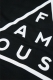 FAMOUS STARS AND STRAPS (フェイマス・スターズ・アンド・ストラップス) BLACK MASS CREWNECK